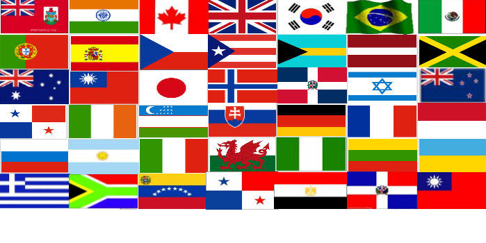 around the world  including customers in the following countriesFlags Of Countries Around The World