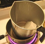Candle Making on Stove with Double Boiling