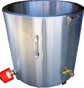 Water Jacketed Melting Tank for Candle Wax Melting, Candle Making