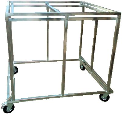 Wax Melter Welded Support Frame With Legs & Wheels